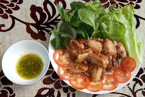 Cá ninja quy nhơn nướng muối ớt